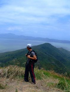 At the Summit of Mount Tagapo (03 April 2011)