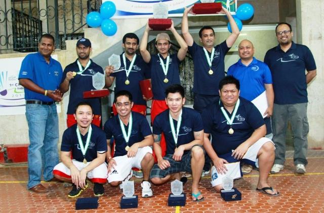 Level B Champion & Runners-Up