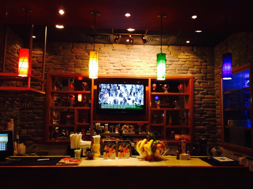 Applebee's Illuminated Wall