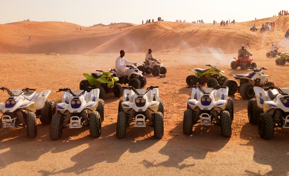 Quad Biking, Dune Bashing, & Nature Tripping At The Most Popular Desert In Saudi Arabia
