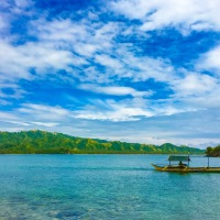 Time Stands Still at Trinity Islands in Oas, Albay